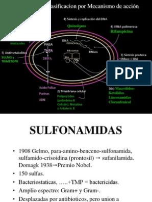 alergia a las sulfonamidas diabetes de las sulfonilureas