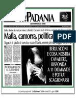 La Padania, 8 luglio 1998