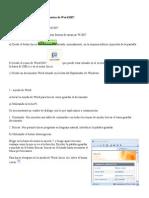 Word 2007 Ayuda de Ejercicios