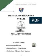 Reglamento Interno 2012-2013