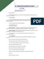 Peru-Codigo de Procedimientos Penales