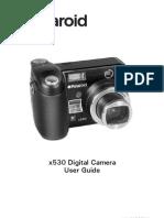 Polaroid x530 digital camera user guide