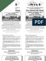 LC Church Bulletin Insert 2013