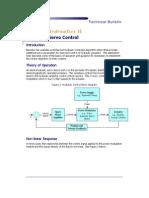 Hydraulic Servo Control