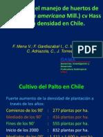 Avences en El Manejo de Paltos de Alta Densidad Francisco Mena Volker