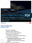 O and M Water Midde East-ABB-Senthil RO DSS-Ver1