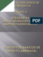 CONCEPTOS BÁSICOS DE IMPACTO AMBIENTAL