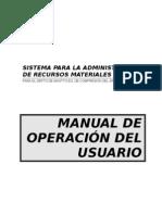 SISTEMA PARA LA ADMINISTRACIÓN DE RECURSOS MATERIALES - copia.doc