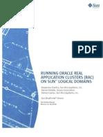 Oracle RAC in Sun Virtualization LDOMS Sun Blueprint
