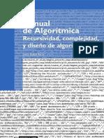 Manual de algorítmica- recursividad- complejidad- y diseño de algoritmos Escrito por Jesús Bisbal Riera