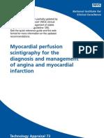 47940 Myocardial Perfusion Scintigraphy