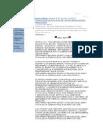 Información Jurídica art. 3o. const