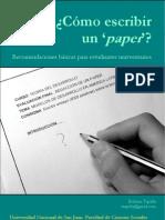 Cc3b3mo Escribir Un Paper Estudiantes Universitarios