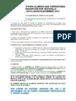 Procedimiento de Reinscripcion Para Alumnos Por Ventanilla 2013 3