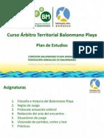 CATBMP Plan de Estudios Arbitros