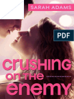 Crushing on the Enemy by Sarah Adams