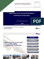 Aplicaciones de Los Concretos Reologicos en Elemtos Presforzados