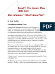 """""""Greater Israel"""" - The Zionist Plan for the Middle East - The Infamous Oded Yinon Plan"""