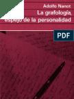 Círculo de Lectores Editora - Adolfo Nanot - Grafologia