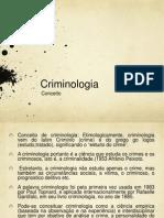 Criminologia.conceito