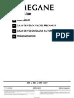 Manual Megane 2005 CC