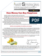 How Money Can Buy Happiness