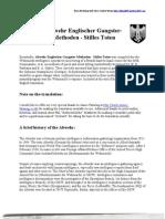 Abwehr Englischer Gangster-Methoden and Translation