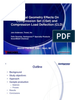TPV Seal Geometry Effects on Compression Set (CSet) and Compression Load Defglection - Above-The-belt 2006
