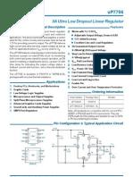 uP7706 Datasheet