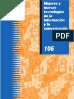 Mujeres y Nuevas Tecnologias de la Información y Comunicación