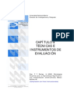 N2433 Tecnicas e Instrumentos de Evaluaciòn