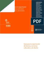 CMD-IMDI - Mariana Markowiecki - Guía para la exportación de bienes y servicios culturales y de diseño