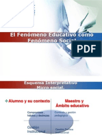 Fenomeno+educativo