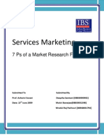 7 P's of Marketing Research Firm-Deepika,Maitri,Mradul@B