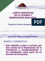 6. Marco Conceptual de La Tutoria