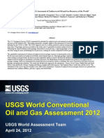 U.S. Geological Survey 2011 Assessment of Undiscovered Oil and Gas Resources of the World