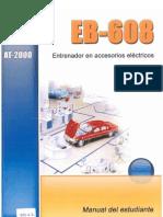 EB 608 Entrenador accesorios electricos