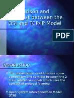 osi and tcp/ip comparison