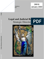 WB Legal and Judicial Reform Strategic Directions