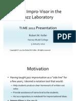Using Impro-Visor in the Jazz Laboratory