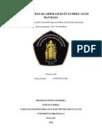 Deret Bowen Dan Klasifikasi Batuan Beku Asam Dan Basa