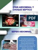 Presentacion Sespsis Abdominal y Choque Septico