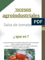 Procesos agroindustriales