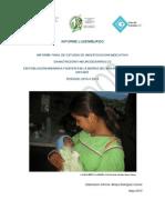 Estado Nutricional de Niños Wixarikas y Coras del Estado Del Nayar
