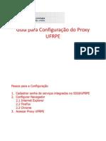 Guia Para Configuracao Do Proxy Ufrpe