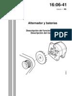 Alternador y Baterias