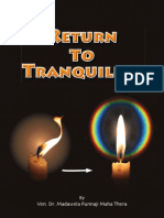 Return to Tranquility