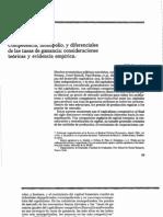 Competencia Monopolio y Diferenciales de Las Tasas de Ganancia Consideraciones Tec3b3ricas y Evidencia Empc3adrica (1)