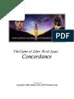 NAEQ-The Cipher of Liber AL Vel Legis Concordance