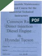 Common Rail Direct Injection (CRDi) Diesel Engine in Hyundai Tucson